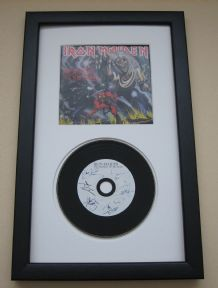 IRON MAIDEN - The Number Of The Beast CD Disc presentation